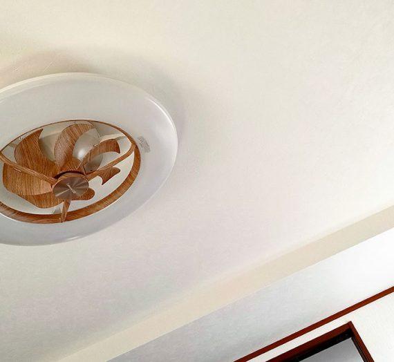 #11 アイデアのプロで、 低い天井でも憧れのシーリングファン[ドウシシャ ルミナス サーキュライト12畳・木目調]
